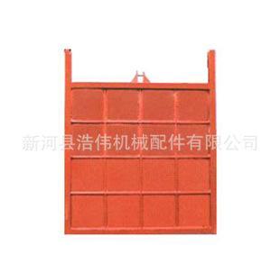 メーカーは双方向の止水の平面鋳鉄の水門の扉をたたいてドアの扉を閉じて