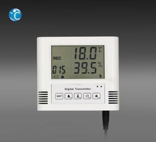 机房仓库阴凉库温湿度传感器/温湿度变送器/RS485组网/声光报警