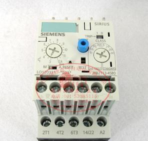 原装德国西门子 SIEMENS 电子式热继电器 3RB2113-4SB0 需预定;