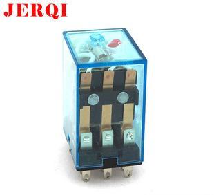 大量批发中间继电器MY3 电磁继电器HH53P 11pin 5A 12V;