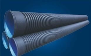 工場直販HDPE双璧波形管、DN400 SN8(S 2)大口径の汚染物質排出pvcパイプ配管
