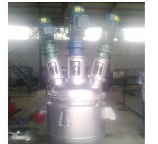 丰圣化机生产全新直销多功能反应釜 带夹层反应釜;
