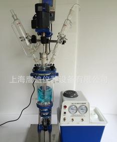 单层玻璃反应釜 双层玻璃反应釜 品种全 质量优 1升-200升;