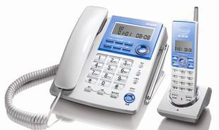步步高 电话机 W76 无绳电话 子母机 时尚 家用 无绳电话机正品;