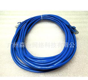 网线厂家 批发直销 成品网线 10米 跳线 五类网线 网络连接线;