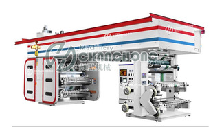 رويان تشانغهونغ آلات طباعة المحدودة في إنتاج الأقمار الصناعية نوع آلة الطباعة فلكسوغرافية اللون 2 3 4 5 لون لون لون