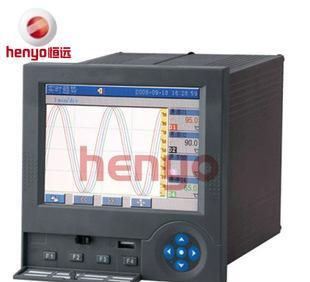 厂家直销HR6000彩屏记录仪 小型多功能智能彩色记录仪;