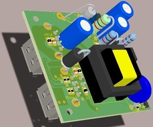 PCB线路板SMT贴片DIP插件焊接加工电子产品组装加工;
