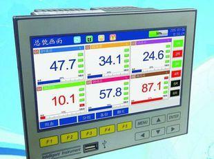 6路超薄宽屏电炉专用记录仪隔离性更好干扰性更强界面更贴心;