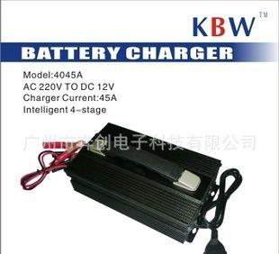 厂家直销 蓄电池充电机-充电电流45A 可调电流 三段脉冲 防反接;