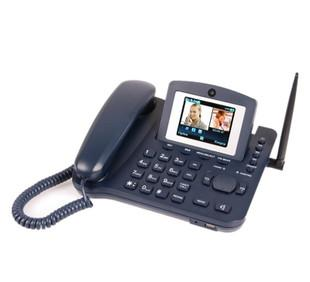 厂家供应LS980 3G WCDMA电话机 无线可视电话 无线固话 无线商话;