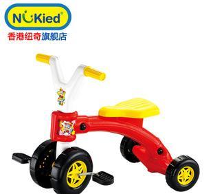 纽奇玩具 儿童三轮脚踏车 1-5岁宝宝童车;