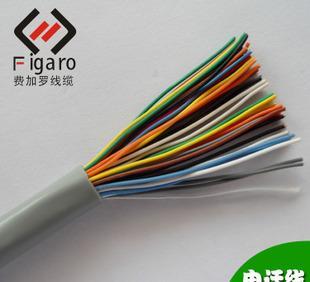 宁波费加罗 专业定制出口线缆 10P电话线 铜丝扁平电线话;
