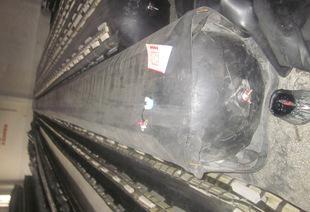 八角型橡胶充气芯模空心板胶囊芯模;