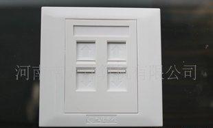供应原装 大唐电信 4口面板 网络面板 电话面板 86信息面板;