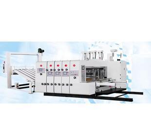 厂家直销全自动高速印刷开槽模切机;