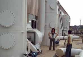 洗涤塔厂家供应废气处理设备填料塔吸收塔污水处理设备,废气设备;