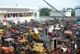 二手物流设备徐州二手杭州叉车 1.5吨林德内燃叉车 仓储搬运设备;