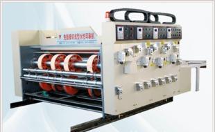 包装机械 厂家直销 YSM系列免版模切成型多色瓦楞纸板水性印刷机;