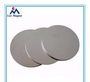 供应月饼盒强力永磁铁磁性材料,电子喇叭磁铁磁片;