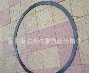 批发供应 优质大口径橡胶垫 法兰橡胶垫片;