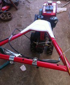 土壌耕整機械-東北マイクロ耕機溝切り機田園耕作機