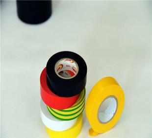 PVC电工阻燃胶带 电气工业高粘性绝缘;