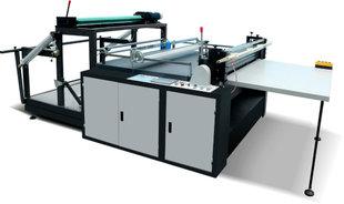 厂家高品质 整卷式全自动 布料皮革横纵双向分切机 印后加工设备