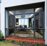 断桥门窗,窗纱一体复合门窗,佛山铝门窗,100-82断桥平开门窗;