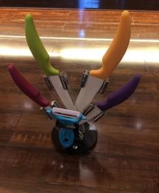 刀具套装厂家直销 刀具套装6件套 景德镇陶瓷刀 陶瓷水果刀;