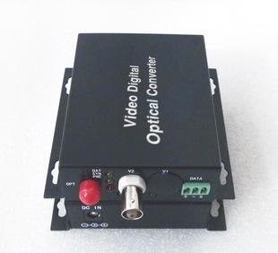 光端机厂家直销 1路纯视频光端机 单模单纤 三年质保防雷