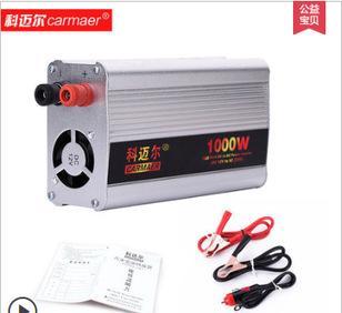科迈尔-300w500w1000w汽车载逆变器12V/24V转220V家用电源转换器;