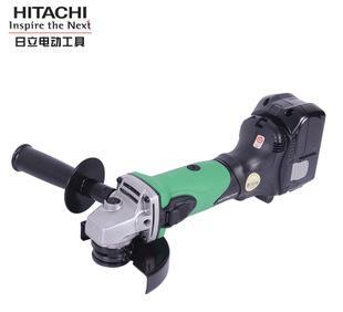 日立角磨机G18DL充电式电磨锂电池115MM电动工具18V便携式角磨机
