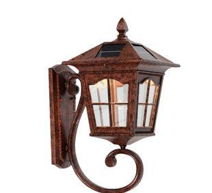 超亮太阳能灯户外太阳能E-1861小号庭院灯家用 高品质壁灯批发