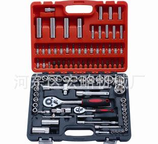【热卖】供应优质94件套筒组套 乔邦套筒类工具 组合工具批发套筒;