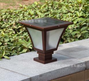 SZ1.5W铝合金太阳能灯庭院灯太阳能草坪灯户外灯花园灯墙头灯