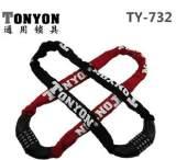 通用732锁 自行车密码锁 自行车链条锁 电动车锁 摩托车锁;