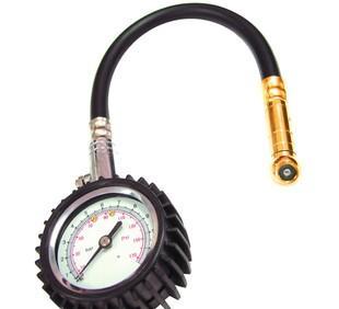 타이어 기압계 높은 정밀 자동차 타이어 프레스 미터 호스 타이어 프레스 시계