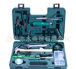 世达(SATA)工具 家用套装 多用组合工具 15件基本维修组套06008;