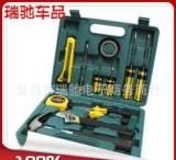保险礼品简化12套件 家用组套 五金组合工具 汽车应急工具箱大;