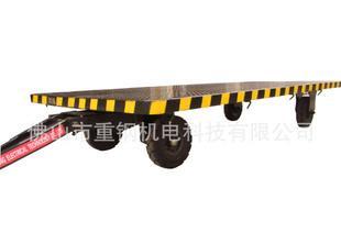 专业定制中德重平板小拖车 5吨运输搬运设备平板拖车;