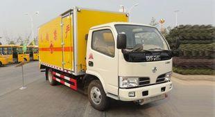 东风爆破器材运输车/5.9米厢式货车 湖北润力厂家现货直销;