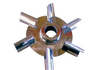 供应优质J660六片弧叶圆盘涡轮式 化工设备配件 质量保证;
