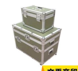 厂家供应 铝合金航空箱定制 大型航空防震箱 多功能五金工具箱;