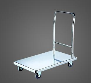厂家供应 简约运输搬运设备手推车 优质不锈钢手推车平板推车批发;