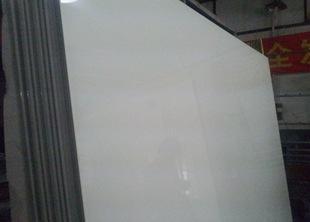 上海厂家供应白色钢化烤漆玻璃原片 可定做加工;