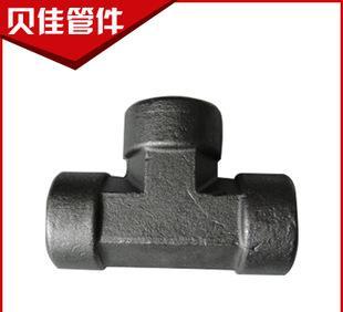 厂家供应 优质液压管接头耐高温承插管件 模锻快接不锈钢三通毛坯