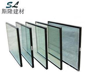 中空钢化玻璃厂家批量生产5+9+5 6+12+6双层中空玻璃 玻璃原片;