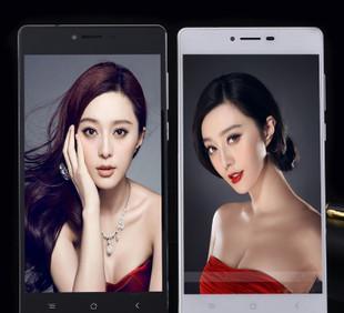新款5.5寸移动快米双镜面安卓智能手机国产低价手机批发送胶套;