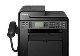 佳能 Canon MF4752 黑白激光传真一体机 打印 复印 扫描 传真;